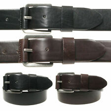 Vitali Genuine Luxury Leather Mens Italian Leather Jeans Belt Made in Italy 3908