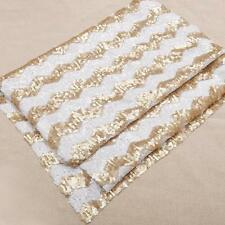 """Wholesale Lot Chevron Sequin Table Runner Cloth Sparkly Wedding Party 14""""x108"""""""