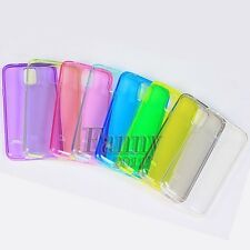 Candy Gel TPU Cover Case for Samsung Galaxy S5, SM- G900A +Screen Protector