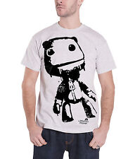 Little Big Planet Sack Boy Official Mens New Grey T Shirt All Sizes