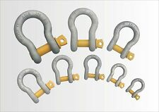 Screw Pin Bow Shackle 500kg - 25,000kg