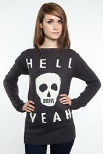 Glamour Kills Skull Yeah Jumper Womens Tee,All Time Low,JAGK,Emo,Rock