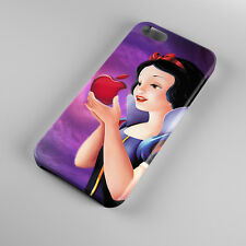 Snow White Disney Princes Apple Logo For iPhone 5s 5 4S 4 Hard Case Cover