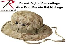 Desert Digital Camouflage USMC Military Tactical Bucket Boonie Hat 5829 NO EGA