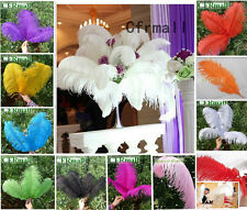 50Pcs New Natural Ostrich Feathers 10 Colors Fit Stage Home Wedding Decoration