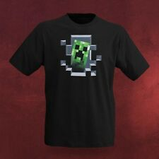 T-Shirt Minecraft Fan Shirt Creeper inside lizenzierte Computerspiel Fashion
