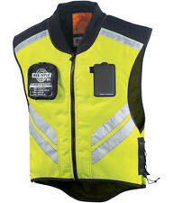 ICON MESH REFLECTIVE VEST MILITARY MIL-SPEC MOTORCYCLE RIDING YELLOW