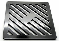 """8"""" Square Metal steel Gully Grid Heavy Duty Drain Cover like cast iron, stronger"""