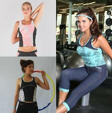 Women Fitness Gym Yoga Top Ladies Running Exercise Pilates Workout Clothes
