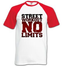 Shirt Parkour Street Workout no Limits Ideal for Casual Wears F92