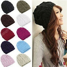 2014 Hot Womens Warm Winter Knit Crochet Christmas  Ski Cap Beanie Beret Hat 014