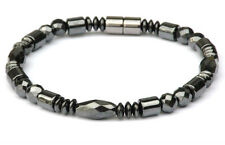 Men's Women's All Magnetic Bracelet Anklet Powerful! Faceted 1-2-3 Row Free Ship