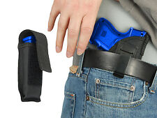 New Barsony IWB Gun Holster + Mag Pouch Smith&Wesson Compact Sub-Comp 9mm 40 45