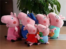 Peppa Pig Family and Friends playset- Soft Plush Teddy doll Figure Stuffed Toys