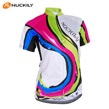 2014 New Cycling Women girls Jersey Quick Dry Breathable Bike wear Size S-XL