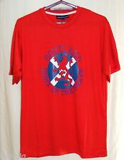 Scotland Home of the Brave T Shirt -Red or Navy - Sizes S - XL BNWT