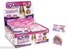 loom bands childrens bracelet rainbow glitter striped refill kit bandz
