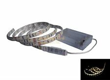 Warm White LED Strip Light+Controller With Battery Box Flash Chasing Knight