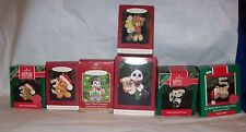 HALLMARK KEEPSAKE ORNAMENTS CHILD'S AGE COLLECTION SERIES MUTI CHOICES USED W/B