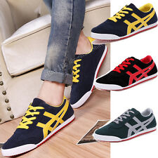 Stylish Men's Summer Casual Lace up Flats Board Shoes Driving Sneakers Moccasins