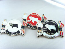 Derby v Bournemouth 2013/14 Championship Match Day Badge - Football Badge