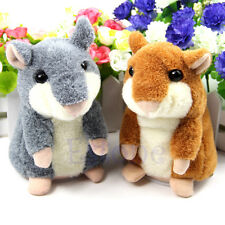 Lovely Mimicry Pet Talking Sound Record Electronic Hamster Plush Toy Kids Gift