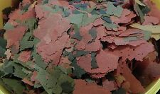 BASIC FOOD FLAKE FOR AQUARIUM TROPICAL FISH SPIRULINA COLOUR ENHANCING 1st CLASS