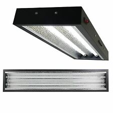 Apollo Horticulture 4 ft T5 Grow Light Commercial Fixture Kit for Plant Growing