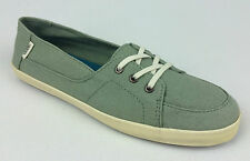 "VANS. ""Surf Siders"" PALISADES Women's Classic Fit Shoes. GREEN US W 10 10.5 & 11"