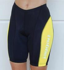 Black & Yellow Womens Mens Jaggad Cycling Bike Knicks pants shorts S M L XL XXL