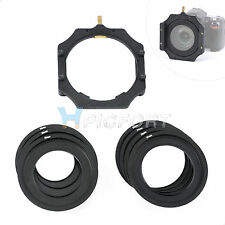 Cokin filter holder + 1 Metal Adapter ring for Lee Hitech Cokin Z 67/72/77/82mm