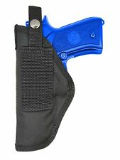 New Barsony OWB Gun Concealment Belt Loop Holster for Taurus Full Size 9mm 40 45
