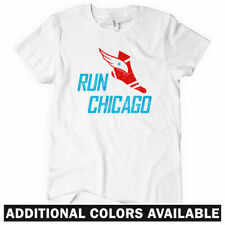 RUN CHICAGO V3 Women's T-shirt - Windy City Running Bulls Bears Cubs Sox - S-2XL