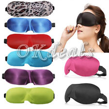Fashionable Portable 3D Soft Travel Sleep Rest Aid Eye Mask Cover Eye Patch NEW