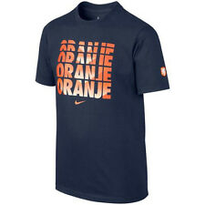 Nike Holland Netherlands World Cup WC 2014 Soccer Reflection Fan Shirt New Navy