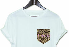 FRESH LEOPARD PRINT HOT HIPSTER INDIE SWAG FUNNY T SHIRT TOP CLOTHING MEN WOMEN