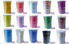 10m Nylon Chinese Knot Beading Jewelry Cords Thread For Necklace Making2mm Dia