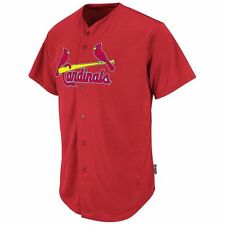St. Louis Cardinals Majestic Authentic Embroidered Cool Base Jersey