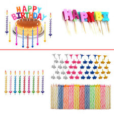 304 Pc Birthday Candle Set Cards Wrapping Paper Balloon Decorations Cake Toppers