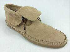 """VANS. """"Surf Siders"""" MOHIKAN Women's SUEDE Leather Shoes CAMEL US W 10.5 & 11."""