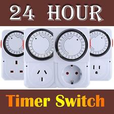 #gib 24 Hours Electrical Energy-saving Programmable Timer Plug Switch Socket