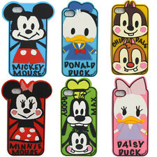 3D Super Cute Cartoon Disney Image Silicone Case Cover for Apple iPhone 5 5S