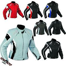 Jacket Textile Ladies Racing Motorcycle Apparel All Season CE Armored A-PRO
