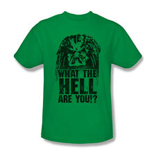 New Predator Movie Face What The Hell Are You Picture Ladies Jr Men T-shirt Top