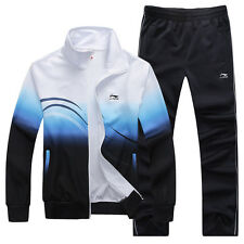 2014 New Brand Li-Ning Men's Activewear Sports Running Badminton Tracksuit Suit