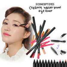 3 CONCEPT EYES 3CECreamy Waterproof Eyeliner STYLENANDA Available in 12 Colors