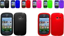 Any Solid Skin Soft Silicone Case For SAMSUNG Galaxy Centura SCH-S738C Phone