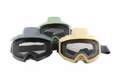 Outdoor Game Hunting Airsoft Paintball Goggles Eyes Protective ABS/Metal Mesh
