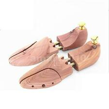 Mens Cedar Wooden Shoe Tree Stretcher Shaper Keeper Adjustable Width UK 7-12