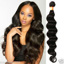 100% virgin INDIAN remy Unprocessed human hair weft Extensions Natural DEEP WAVE